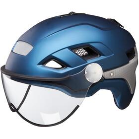 KED B-Vis X-Lite Kask rowerowy niebieski